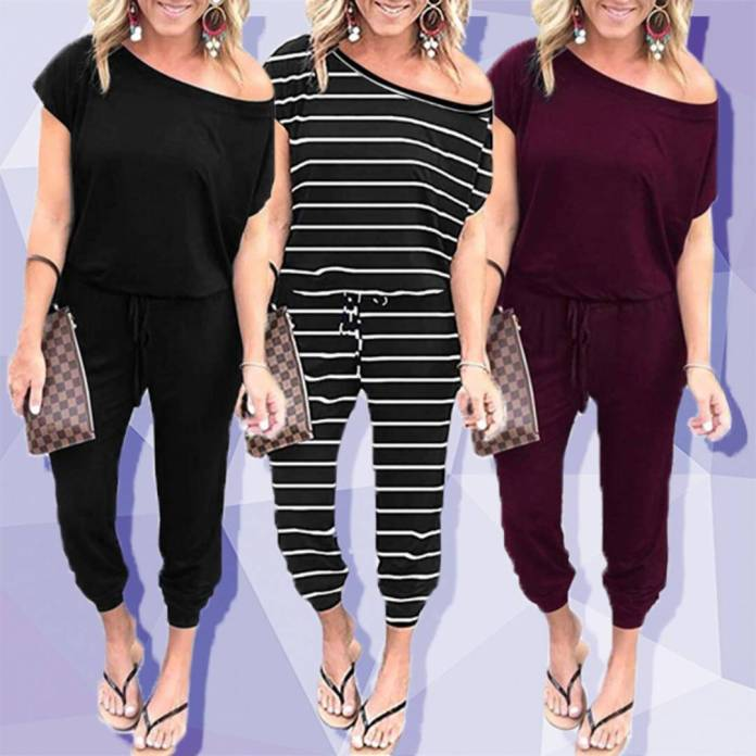 This $30 Off the Shoulder Jumpsuit Has 15,650 5-Star Amazon Reviews