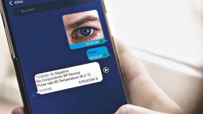 Video: This eye scan can detect Covid-19 in three minutes - News