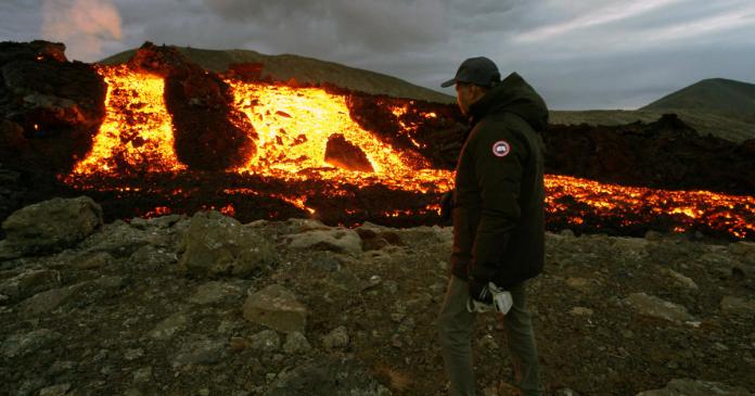 60 Minutes cameras capture the fire and fury of Earth's newest volcano