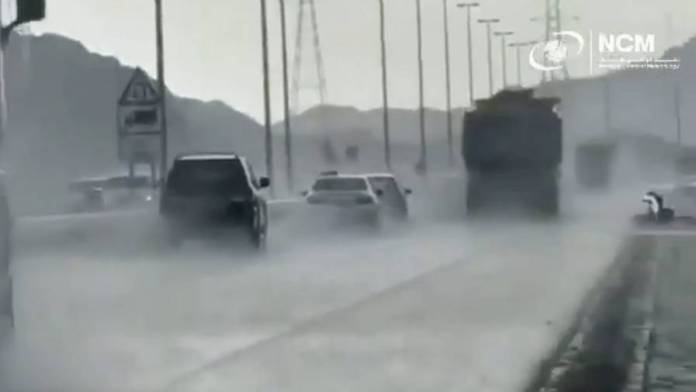 Heavy rains hit parts of UAE; safety alert issued - News