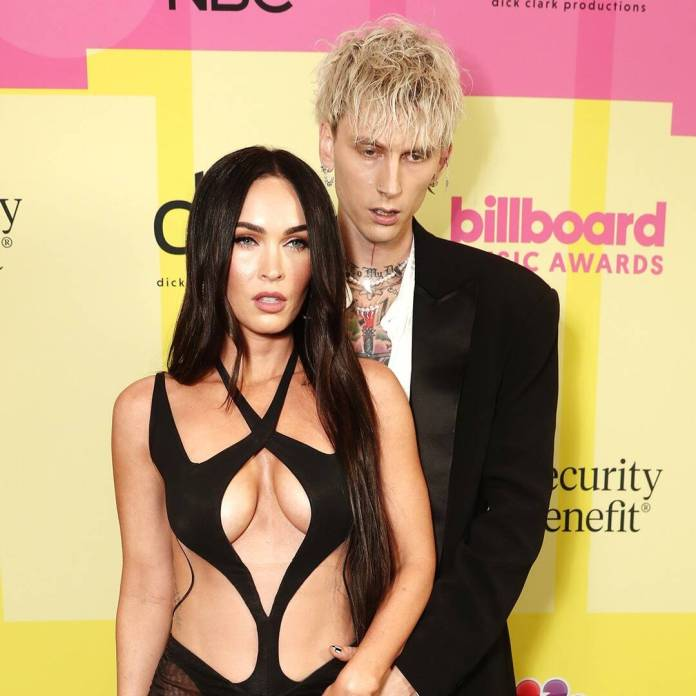 Megan Fox and Machine Gun Kelly's PDA at the BBMAs Is Indescribable