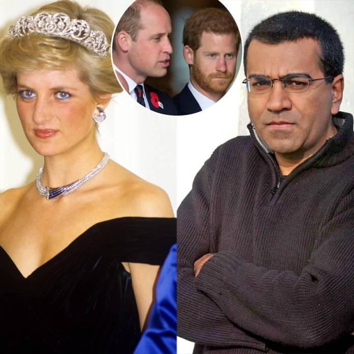 Prince William & Harry Comment on Princess Diana Interview Probe