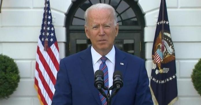 President Biden expresses cautious optimism on pandemic in July 4 address