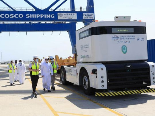 Self-driving trucks to do the heavy lifting at Abu Dhabi Ports - first such in Middle East