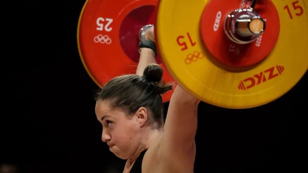 Weighlifting gold for Canada and other highlights from Tokyo 2020