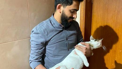 Dubai expat 'shocked, surprised' after Sheikh Mohammed shares his pregnant cat rescue video - News