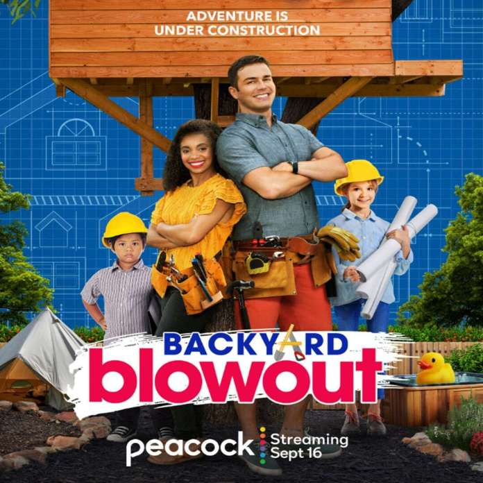 Kids Take Charge of Home Makeovers in Backyard Blowout Trailer