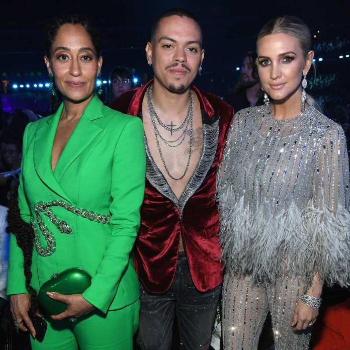 Tracee Ellis Ross Reacts to Ashlee Simpson's Nude Pic of Evan Ross