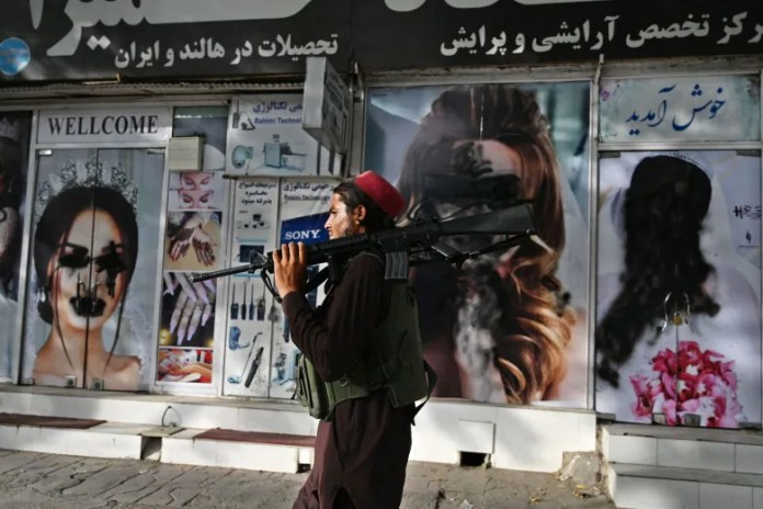 Federal officials praised their progress on gender equality in Afghanistan months before Taliban victory