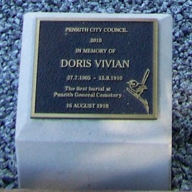 Doris plaque