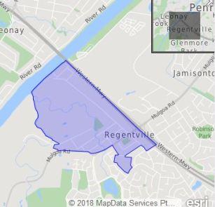 regentville map