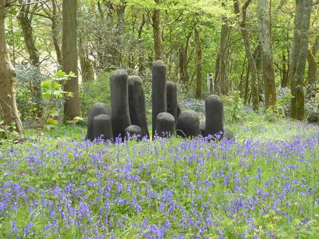 Tremenheere Sculpture Gardens near Penzance