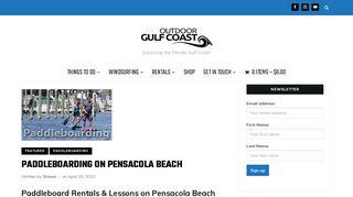 Outdoor Gulf Coast of Northwest Florida