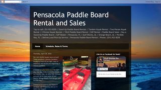 Pensacola Paddle Board Rental and Sales