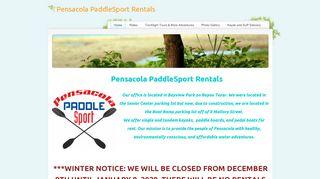 Pensacola PaddleSport Rentals