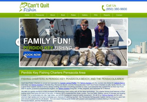 Can't Quit Fishing Pensacola