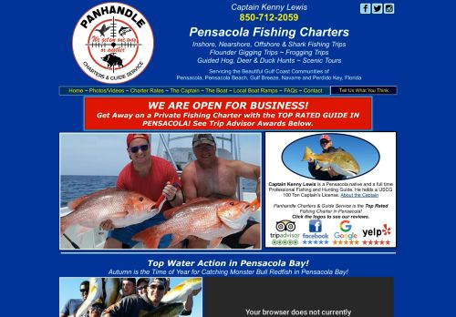 Panhandle Charters and Guide Service