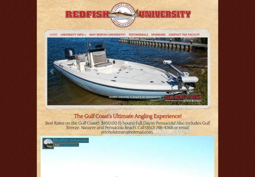 Redfish University Pensacola Fishing Charters