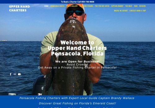 Upper Hand Pensacola Fishing Charters
