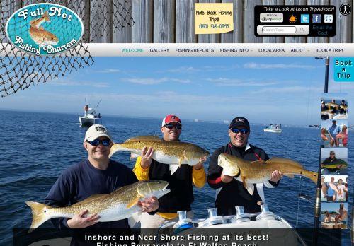 Full Net Fishing Charters - Pensacola