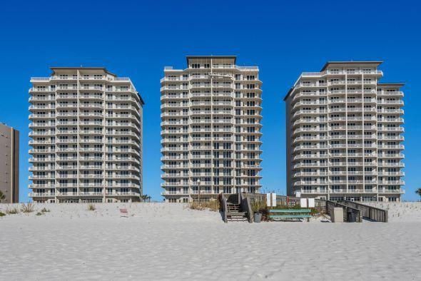 Summerwind condo on the beach
