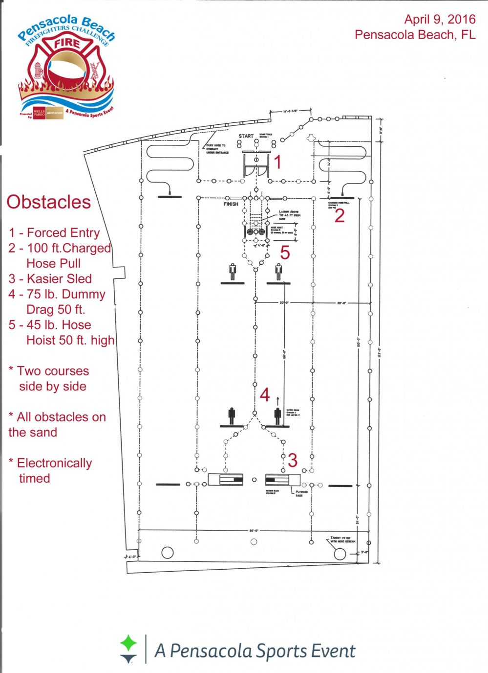 medium resolution of 2016 fireman s challenge course layout and description 1