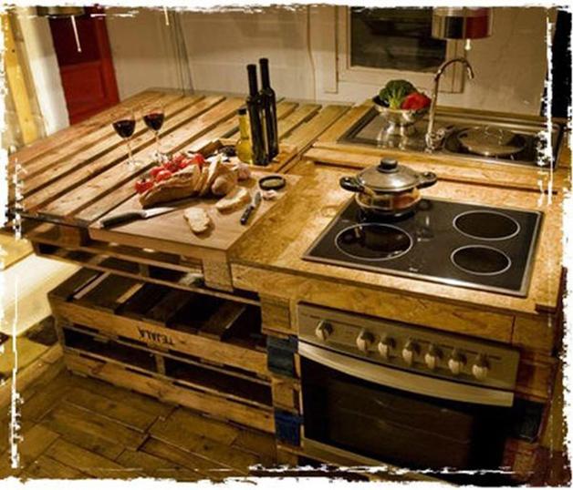 Dica de decorao para casa cozinha ecolgica feita com