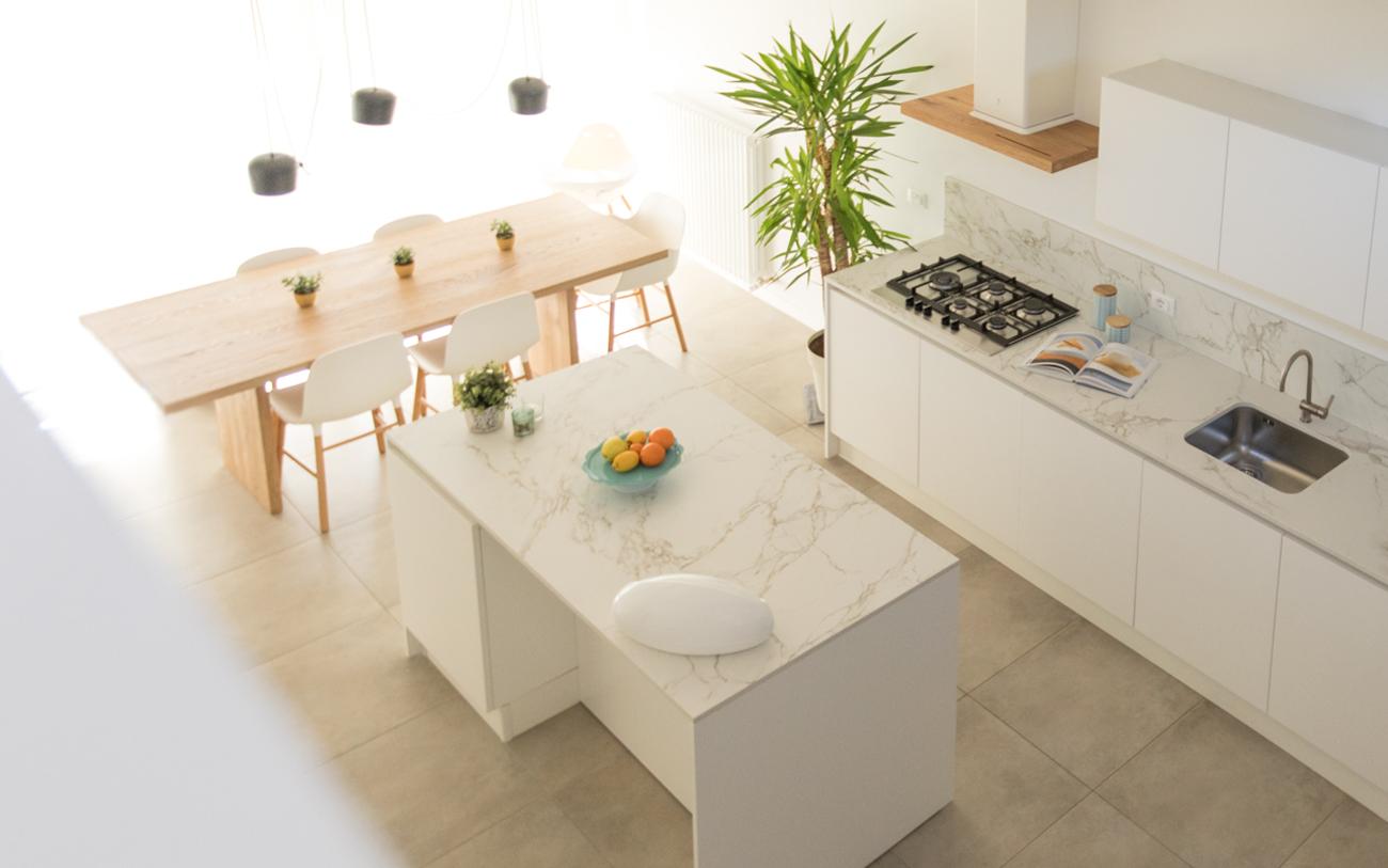 Cucina moderna bianca la soluzione di sicuro successo
