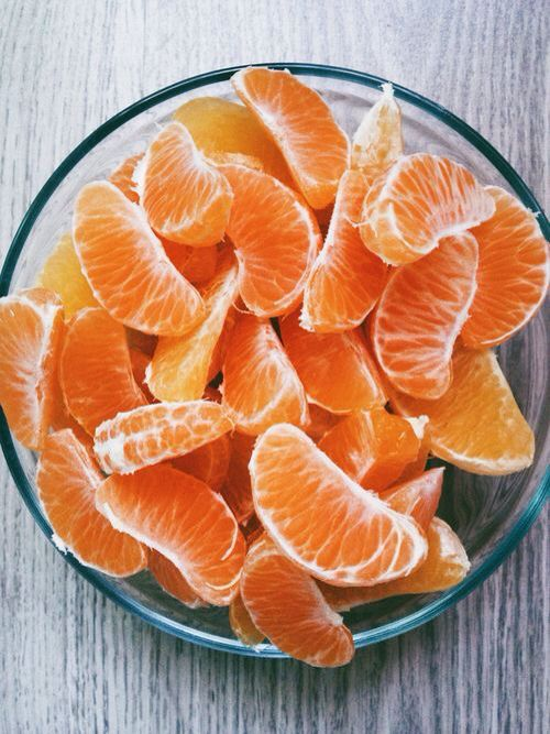El olor a la mandarina
