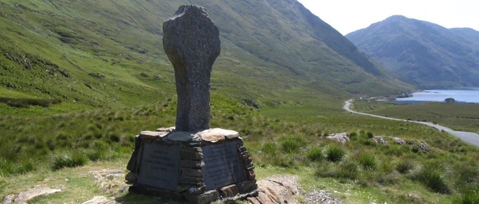 Famine Memorial - Doo Lough Pass