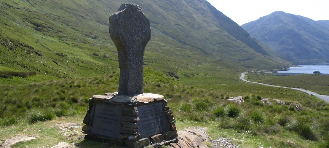 Famine Memorial - Doo Lough Pass