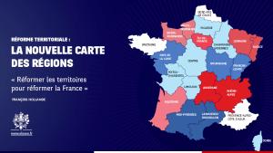 Regions réforme territoriale Hollande