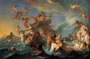L'Enlèvement d'Europe, par Noël Nicolas Coypel