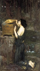 Pandora, John William Waterhouse