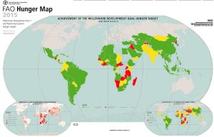FAO objectifs faim monde