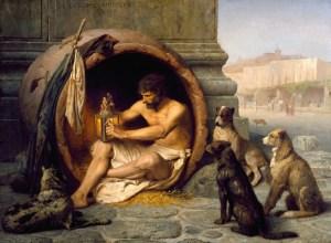 Jean-Léon Gérôme - Diogene