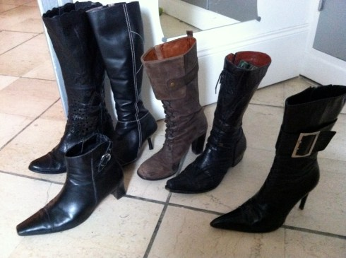 Collection de chaussures de Karine
