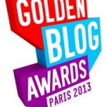 Je participe aux Golden Blog Awards 2013