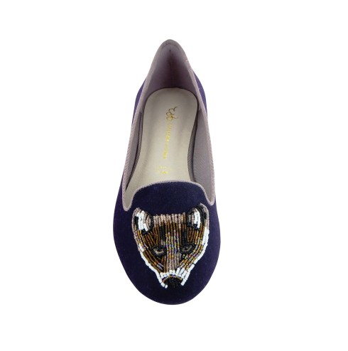 Slipper Cera Fox, violet, par Chocolate Schubar