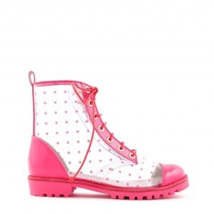 Boots Gwen par Sophia Webster, en rose