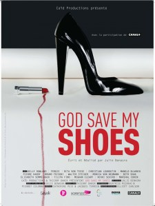 "Affiche du documentaire ""God save my shoes"""