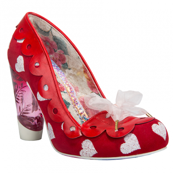 Escarpins Hearts on the Line par Irregular Choice