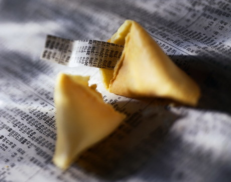 Stock Reports in Fortune Cookie