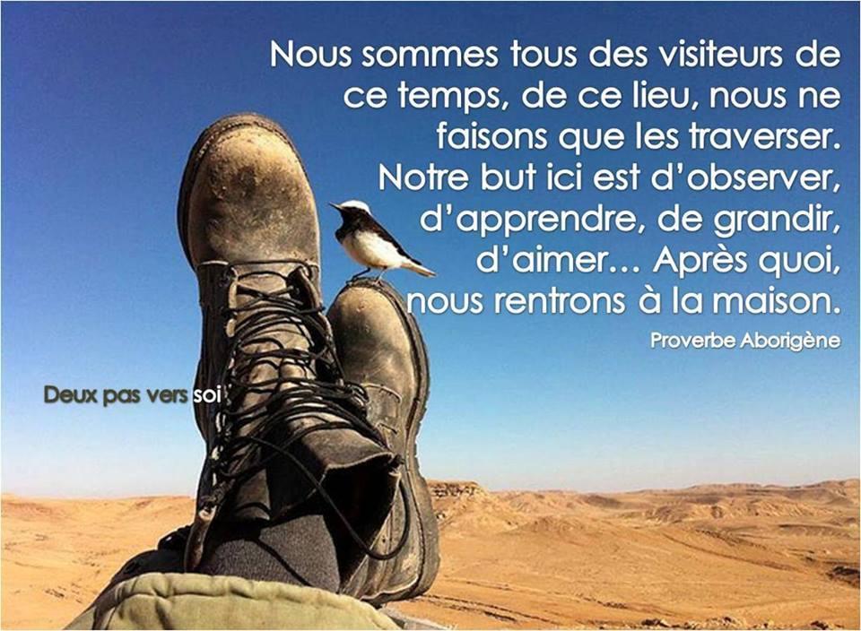 Nous sommes tous des visiteurs - Inspirations pour réussir ...