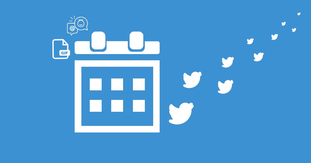 Como agendar tweets com gif no Twitter?