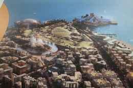 Plastico di come diventerà Saadiyat Island