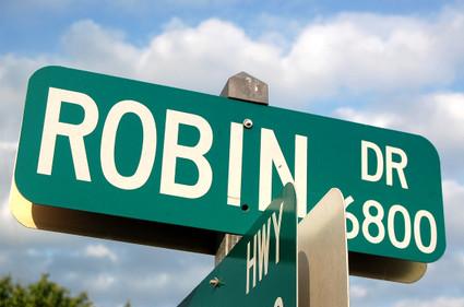 Robin_street_sign
