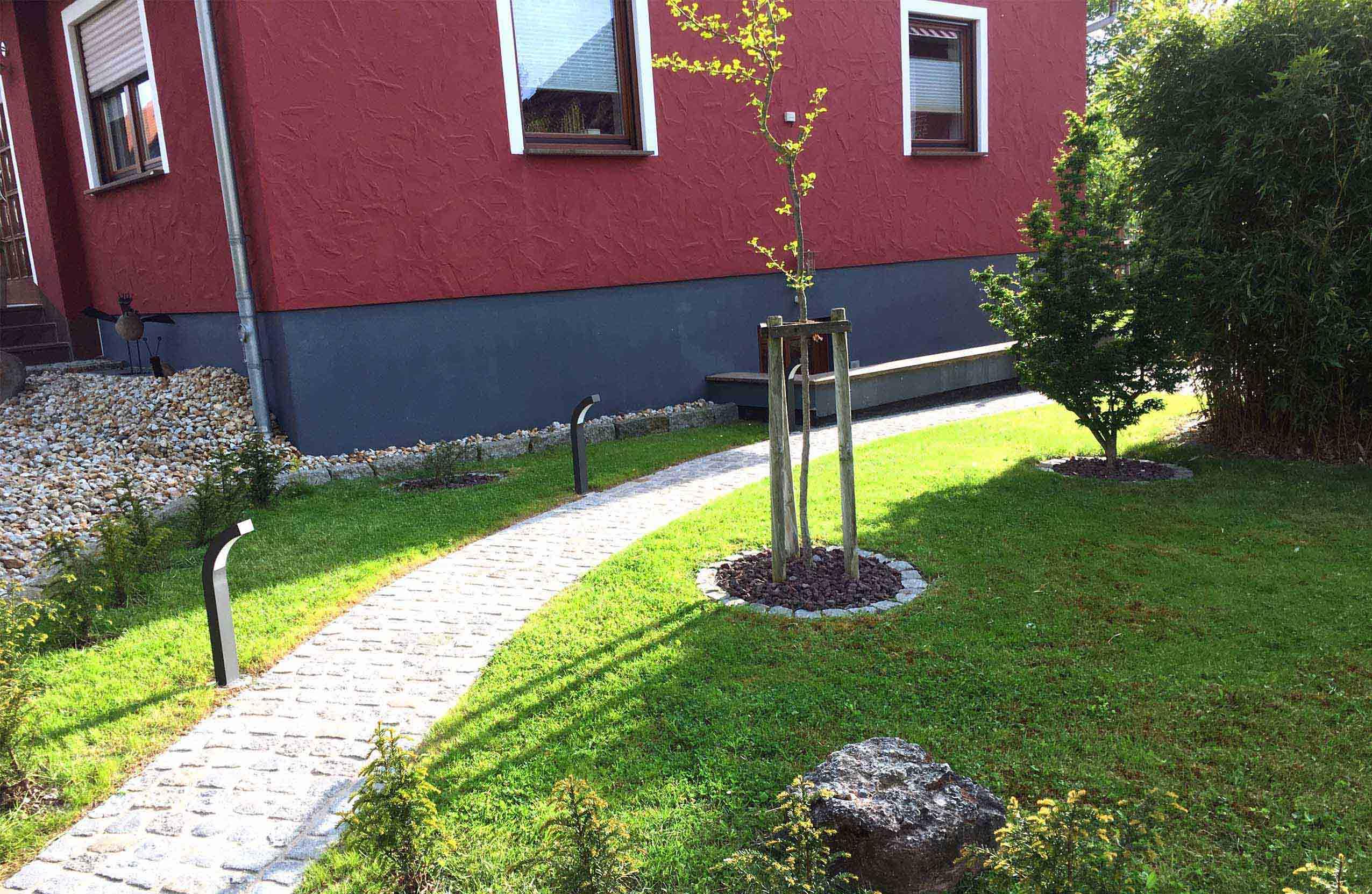 Slider Zugangswege - Ferienwohnung im Eichsfeld
