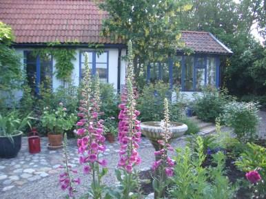 Vackert på innergården