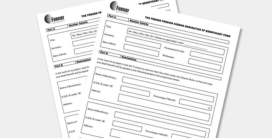 Pension scheme information